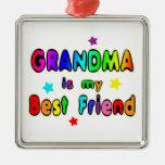 Grandma Best Friend Christmas Tree Ornaments
