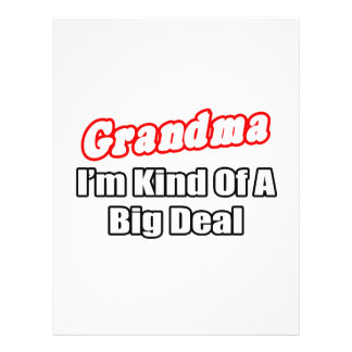 Grandma Big Deal Full Color Flyer