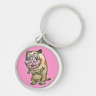 Grandma cat keychain