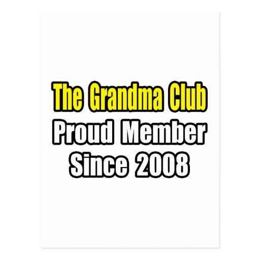Grandma Club...Since 2008 Postcard