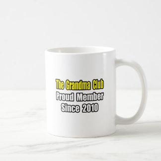 Grandma Club Since 2010 Coffee Mug