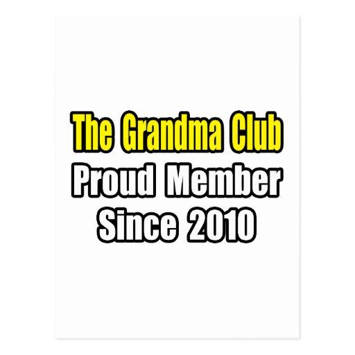 Grandma Club...Since 2010 Postcard