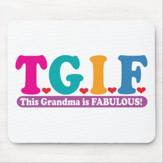 Grandma Fabulous Mouse Mat