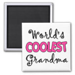Grandma Gift Square Magnet