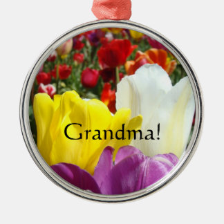 Grandma! gifts Ornaments Tulip Flowers Floral