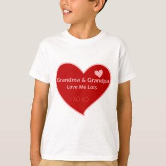Grandma & Grandpa Love Me T-Shirt
