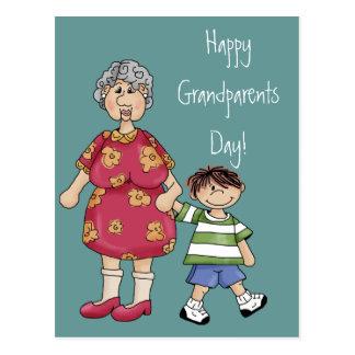 Grandma Grandson Grandparent Designs Postcards