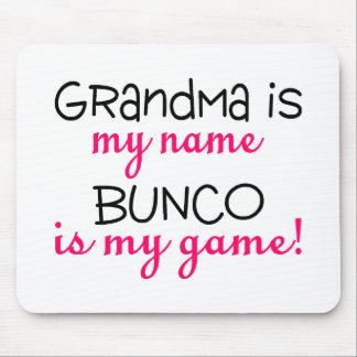 Grandma Is My Name Bunco Is My Game Mousepad