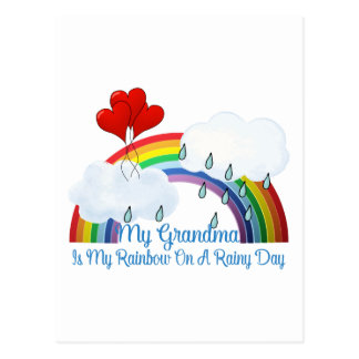 Grandma Is My Sunshine Postcard