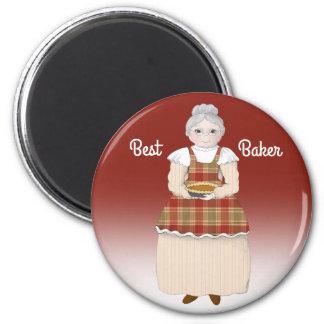 Grandma Is the Best Baker Magnet