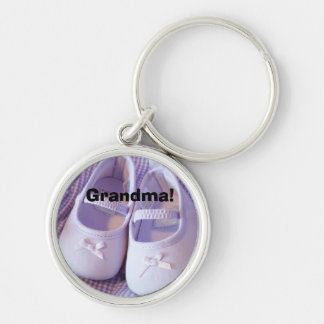 Grandma keychains gifts Lavender Baby Booties shoe