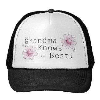 Grandma Knows Best Mesh Hat