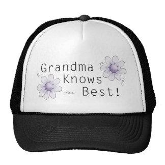 Grandma Knows Best Cap
