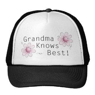 Grandma Knows Best Mesh Hat