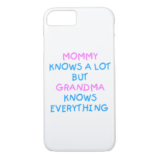 Grandma knows everything | Mother's Day Gift iPhone 8/7 Case