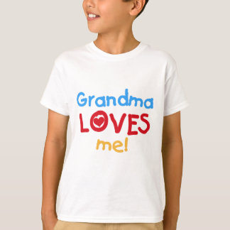 Grandma Loves Me T-shirts and Gifts