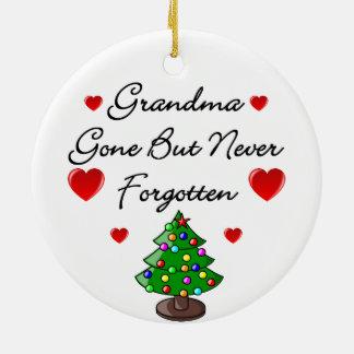 Grandma Memorial Ceramic Christmas Tree Decoration