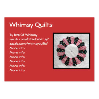 Grandma Nellie s Quilt Block 2 Business Card Templates