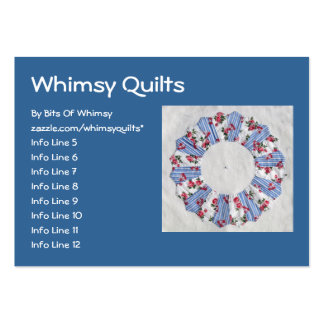 Grandma Nellie's Quilt - Block #3 Pack Of Chubby Business Cards