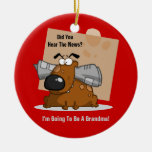 Grandma News (Customizable) Christmas Ornament