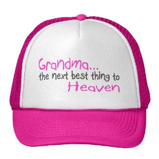 Grandma, Next Best Thing To Heaven Cap