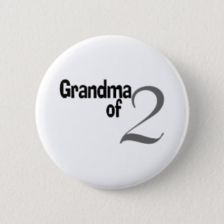Grandma Of 2 6 Cm Round Badge