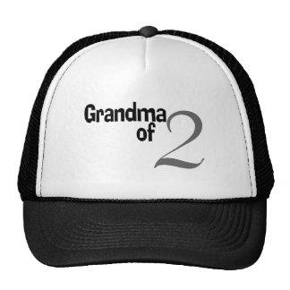 Grandma Of 2 Hat