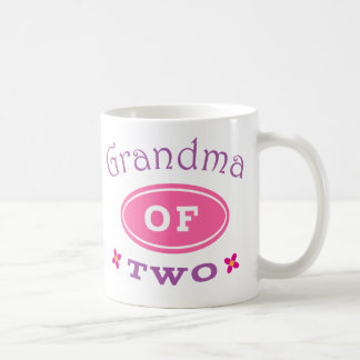 Grandma of 2 coffee mug