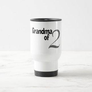 Grandma Of 2 Mugs