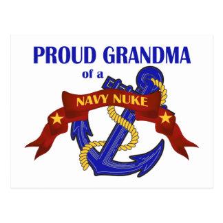 Grandma of a Navy Nuke Postcard