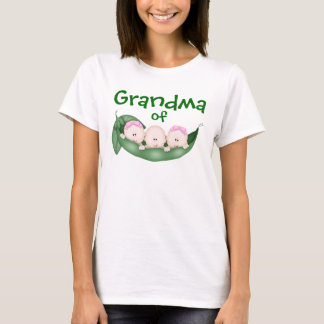 Grandma of Mixed Triplets T-Shirt