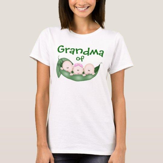 Grandma of Mixed Triplets T-Shirt