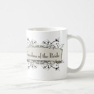 *Grandma Of The Bride Basic White Mug