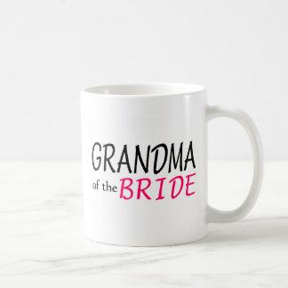 Grandma Of The Bride Basic White Mug