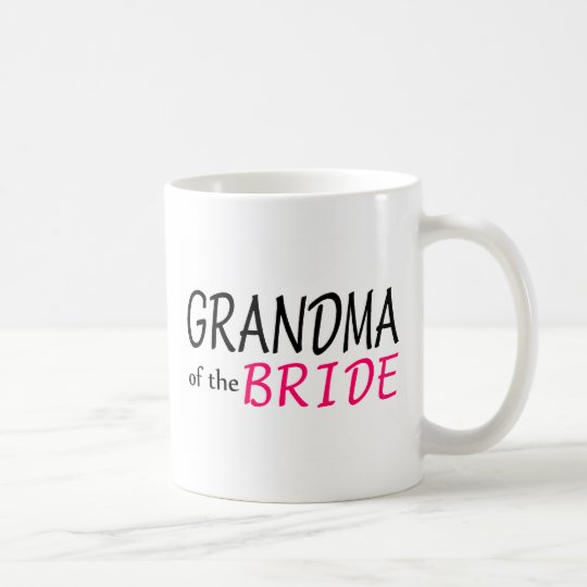 Grandma Of The Bride Coffee Mug