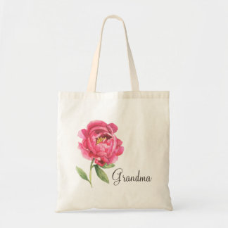 Grandma Peony Tote Mother's Day Gift