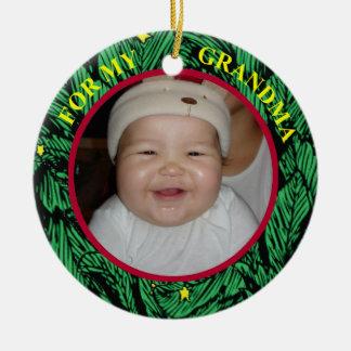 Grandma Photo Gift Tag & Ornament