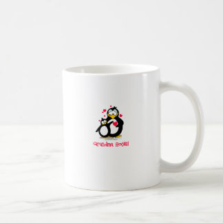 grandma rocks basic white mug