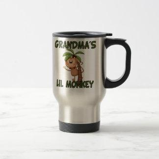 Grandma s Little Monkey Stainless Steel Travel Mug