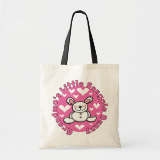 Grandma s Little Snuggle Bunny Tote Bags