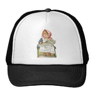 Grandma s Pancake Flour Vintage Food Ad Art Trucker Hat