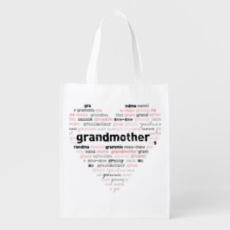 Grandma s Reusable Grocery Bag Market Totes