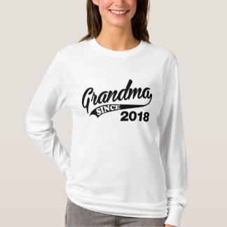 Grandma Since 2018 T-Shirt