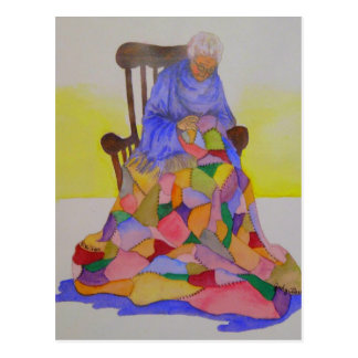 Grandma Smith - Mini Collectible Prints Post Card