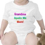 Grandma Spoils Me More Baby Bodysuits