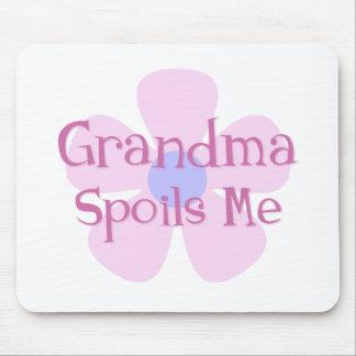 Grandma Spoils Me Mouse Pad