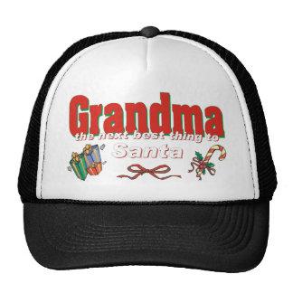 Grandma, The Next Best Thing To Santa Mesh Hats