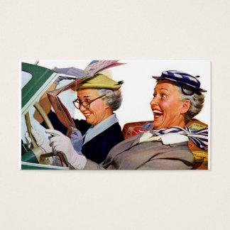 Grandma The Speed Queen Business Card