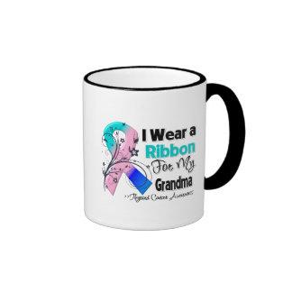 Grandma - Thyroid Cancer Ribbon Ringer Mug