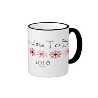 Grandma To Be 2010 Coffee Mug